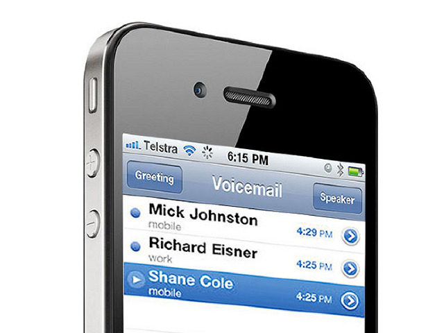 how to turn voicemail on iphone 5 o2